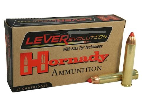 Hornady LEVERevolution Ammunition 444 Marlin 265 Grain FTX Box of 20