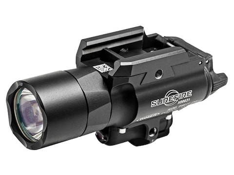 Surefire X400 Ultra Weapon Light LED with Green Laser with 2 CR123A Batteries Aluminum ...