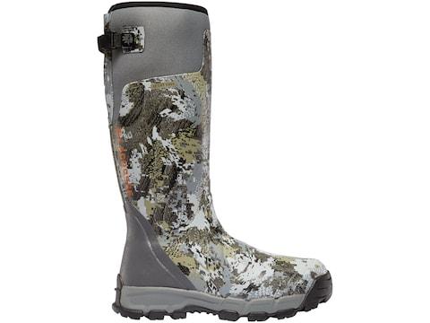 "LaCrosse Alphaburly Pro 18"" Hunting Boots Rubber Clad Neoprene Men's"