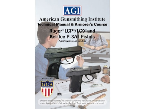 "American Gunsmithing Institute (AGI) Technical Manual & Armorer's Course Video ""Ruger L..."