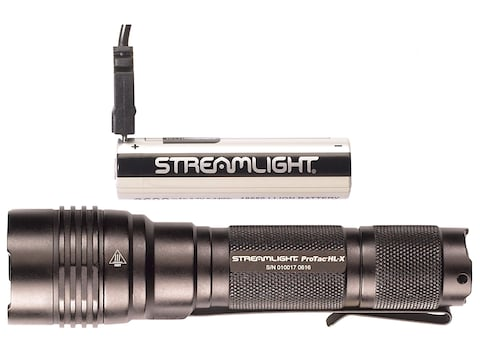 Streamlight ProTac HL-X USB Flashlight LED with Rechargeable 18650 Battery and Holster ...