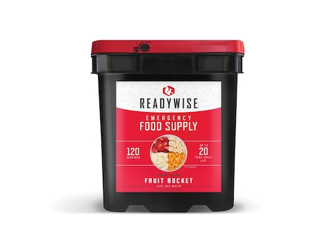 ReadyWise Fruit Bucket Freeze Dried Food 120 Serving