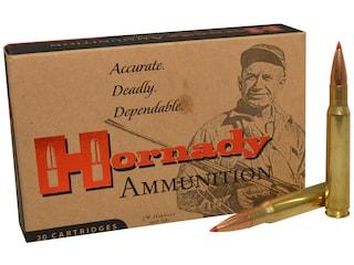 Hornady Vintage Match Ammunition 30-06 Springfield (M1 Garand) 168 Grain ELD Match Box of 20