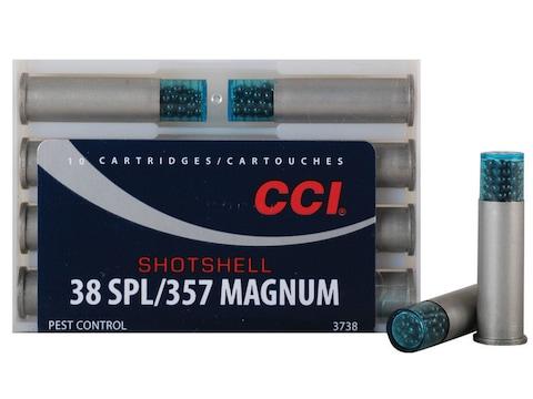 CCI Shotshell Ammunition 38 Special 100 Grains #9 Shot Box of 10 - Blemished