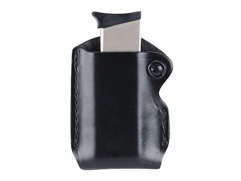 Gould & Goodrich B850 Belt Single Magazine Pouch Leather Black