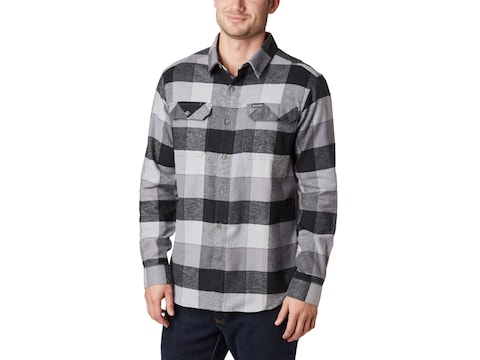 Columbia Men's Flare Gun Stretch Flannel Long Sleeve Shirt Cotton