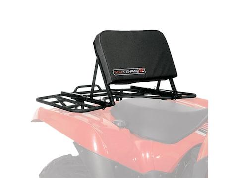 YUTRAX TX218 Universal Adjustable ATV Backrest Black