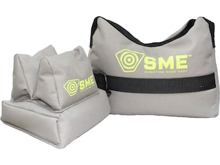 SME Front and Rear Shooting Rest Bag Set Nylon Filled Tan