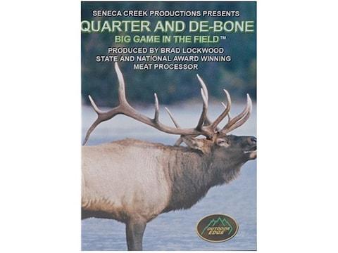 "Outdoor Edge Video ""Quarter and De-Bone Big Game in the Field"" DVD"