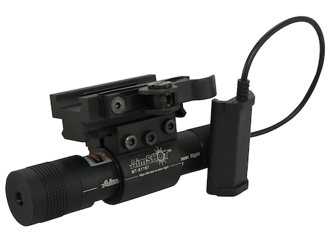 AimShot LS8100 Green Laser Sight Kit with Picatinny-Style Mount and Quick-Release Rail ...
