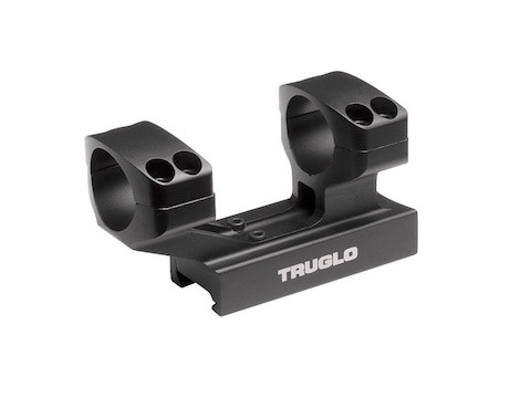 """TRUGLO Tactical 1-Piece Scope Mount Picatinny-Style with Integral 1"""" High Rings Matte"""