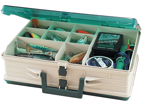 Plano Double Sided Fixed Compartment Satchel Tackle Box