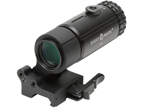 Sightmark T-3 3x Magnifier with LQD Flip to Side Quick Detachable Mount Matte