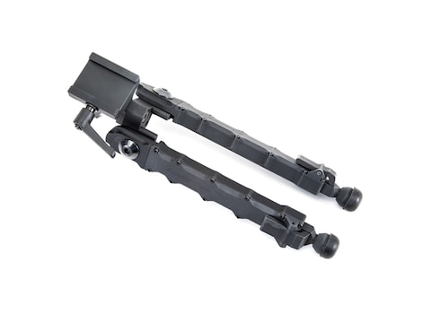 "Accu-Tac LR-10 G2 Bipod Arca Rail Mount 7.25"" to 12"" Aluminum Black"