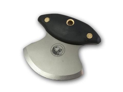 "Knives of Alaska Magnum Ulu Fixed Blade Knife 3.375"" D2 Tool Steel Blade SureGrip Handl..."