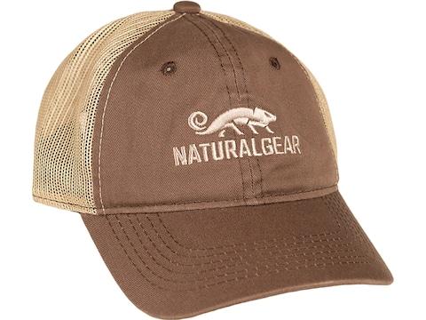 Natural Gear Mesh Back Logo Cap