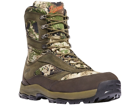 """Danner High Ground 8"""" GORE-TEX Hunting Boots Leather/Nylon Men's"""