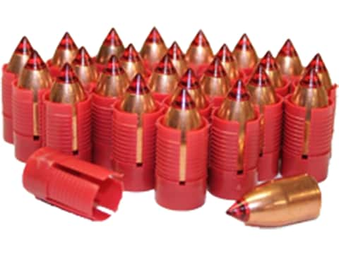 Traditions Smackdown XR Muzzleloading Bullet 50 Caliber Sabot with 45 Caliber Bullet Pa...
