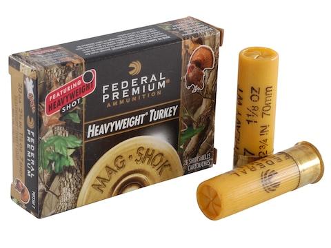 "Federal Premium Mag-Shok Turkey Ammunition 20 Gauge 2-3/4"" 1-1/8 oz #7 Heavyweight Shot"