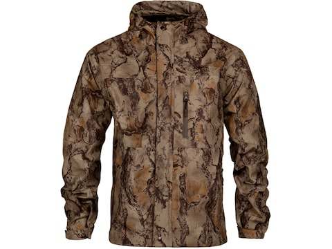 Natural Gear Men's Cut Down Rain Shell Jacket Polyester