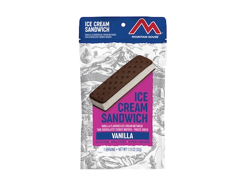 Mountain House Ice Cream Sandwich Freeze Dried Food