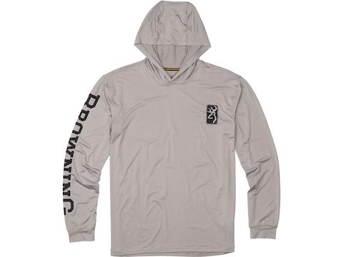 Browning Men's Hooded Tech Long Sleeve Shirt