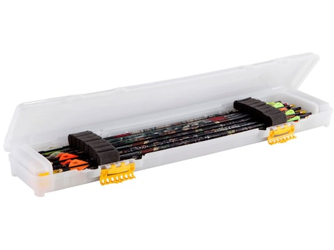 Plano Compact Arrow Case Polymer Clear