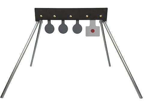 Challenge Targets Shoot-to-Reset Plate Rack Steel Target