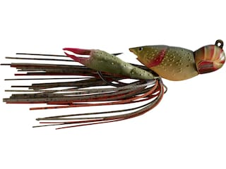 LIVETARGET Crawfish Jig Brown/Red 1/2 oz
