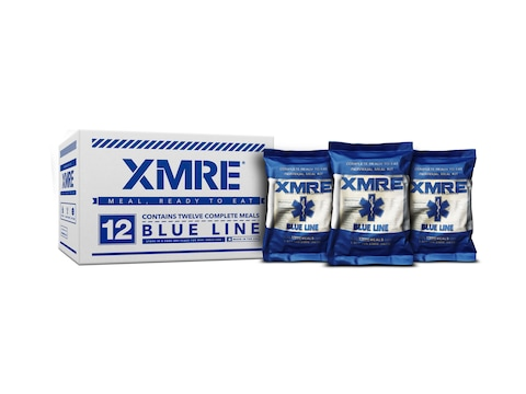 XMRE Blue Line MRE (Meal, Ready to Eat) Pack of 12