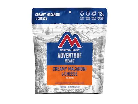 Mountain House Creamy Macaroni & Cheese Freeze Dried Food 2 Serving