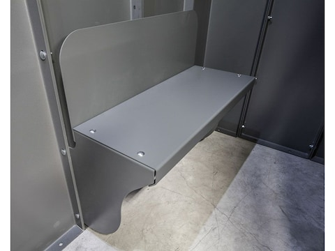 ESP Safety Shelter Double Panel Bench