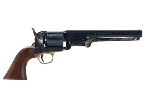 "Pietta 1851 Navy Black Powder Revolver 36 Caliber 7.5"" Barrel Steel Frame Blue"