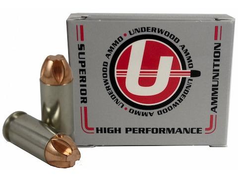 Underwood Ammunition 40 S&W 140 Grain Lehigh Xtreme Penetrator Lead-Free Box of 20