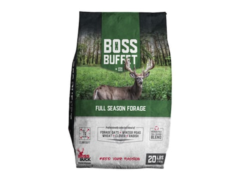 Boss Buck Boss Buffet Full Season Forage Food Plot Seed 20lb