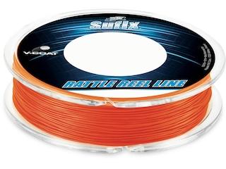 Sufix Rattle Reel V-Coat Fishing Line 20lb 50yd Neon Fire