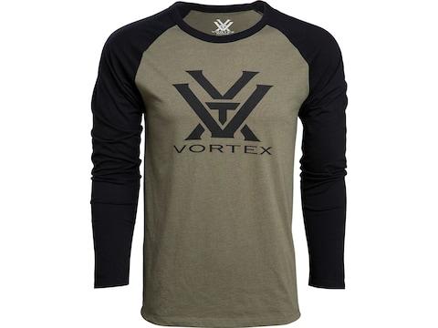 Vortex Optics Men's Raglan Core Logo Long Sleeve T-Shirt