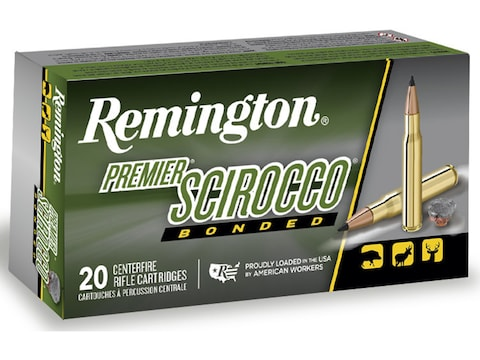 Remington Premier Ammunition 7mm Remington Magnum 150 Grain Swift Scirocco Box of 20