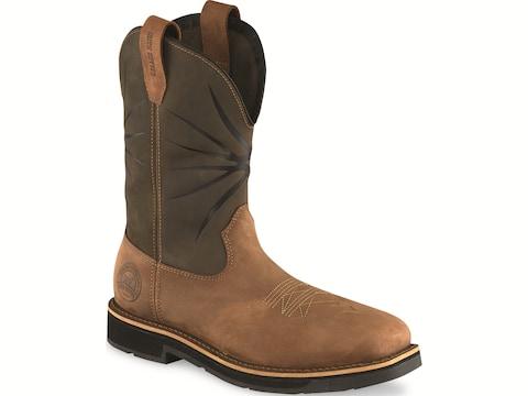 """Irish Setter Walker 11"""" Pull-On Work Boots Full Grain Leather Men's"""