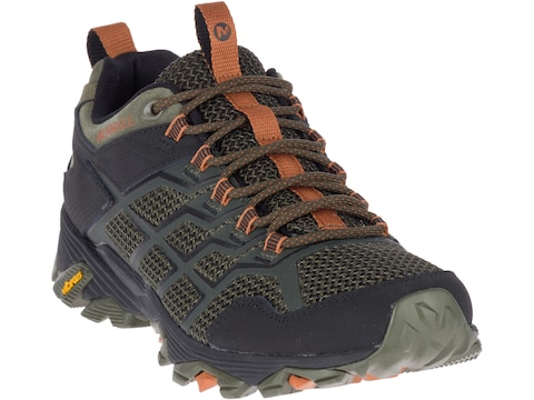 "Merrell Moab FST 2 4"" Hiking Shoes Leather/Synthetic Men's"