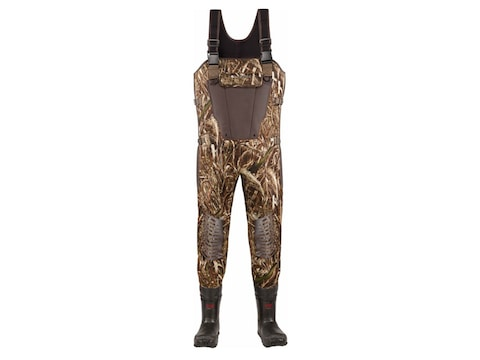 LaCrosse Mallard II Expandable 3.5mm 1000 Gram Insulated Neoprene Chest Waders Realtree...