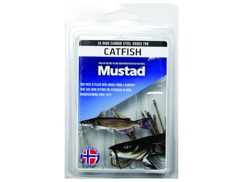 Mustad 35pc Catfish Hook Assortment