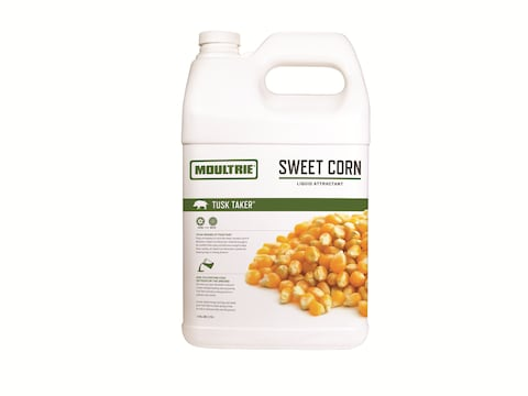 Moultrie Tusk Taker Concentrated Sweet Corn Hog Attractant 1 gallon