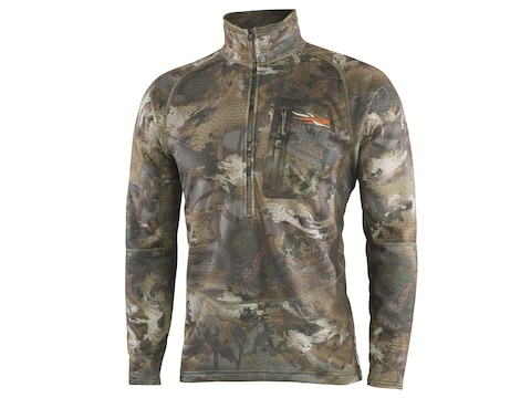 Sitka Gear Men's Grinder Heavyweight 1/2 Zip Pullover Polyester