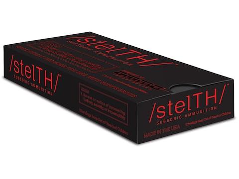 Stelth Ammunition 45 ACP 230 Grain Total Metal Jacket Box of 50