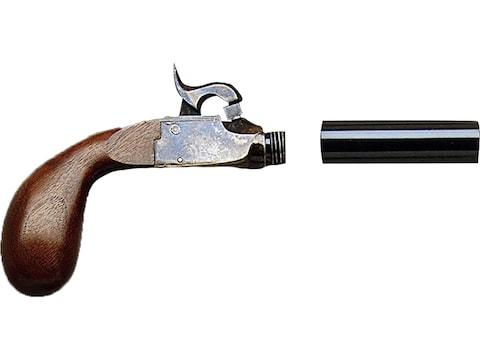 """Pedersoli Derringer Liegi Pocket Muzzleloading Pistol 44 Caliber Percussion 4"""" Blued Ba..."""