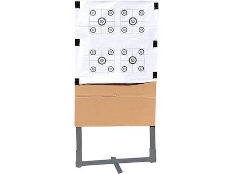 "Birchwood Casey Metal 24"" Target Stand With Target Kit Gray"