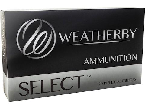 Weatherby Select Ammunition 257 Weatherby Magnum 100 Grain Hornady InterLock Spire Poin...