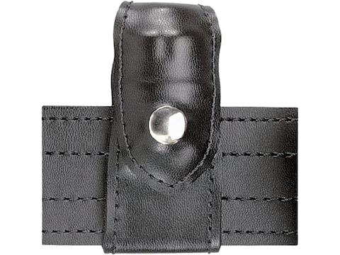 Safariland 371 Split-Six Leather Speedloader Pouch Comp I J Frame 5-Shot Black