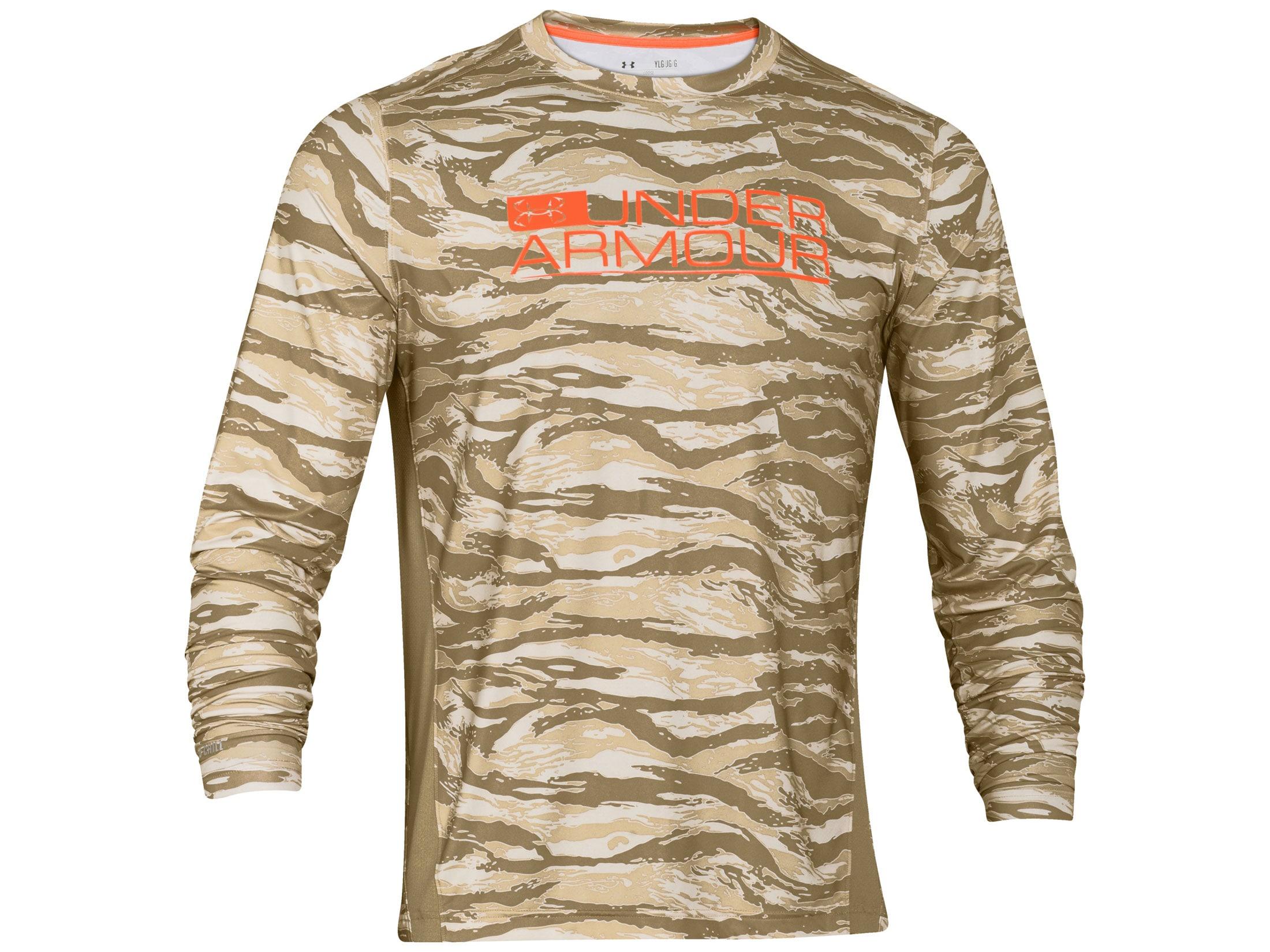 07ec6bcb46 Under Armour Men's ISO-Chill Element Vented Long Sleeve Shirt Nylon